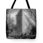 Flat Iron Snow Tote Bag