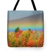 Flat Rainbow Tote Bag