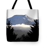 Flat Top Floating Through The Trees Tote Bag