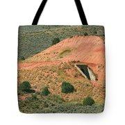 Flat Tunnel Tote Bag