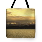 Flathead Lake Montana Tote Bag