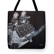 Flathead Offenhauser V8 Tote Bag