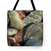 Flathead River Rocks Tote Bag
