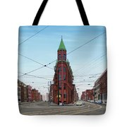 Flatiron Building 1955 Tote Bag