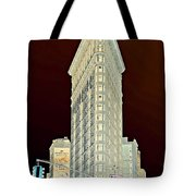 Flatiron Building Inverted Tote Bag