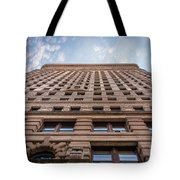 Flatiron Building Sky Color Tote Bag