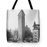 Flatiron Building - Vintage New York - 1902 Tote Bag