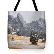 Flatiron Meadows - Boulder Colorado Tote Bag