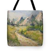 Flatirons In The Rockies Tote Bag