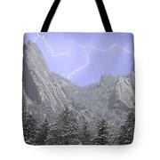 Flatirons Lightning Tote Bag