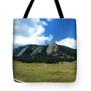 Flatirons Panorama Tote Bag