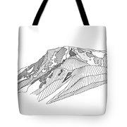 Flattop Mountain Tote Bag
