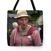 Flea Market Sales Man Tote Bag