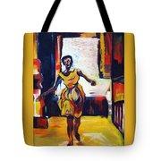 Fleeting Woman Tote Bag