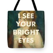 Fleetwood Mac Lyrics Print Tote Bag