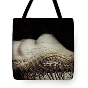 Flesh And Bone Suspended Tote Bag