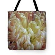 Curled Flower Tote Bag