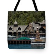 Fleur De Lac Mansion The Godfather II Tote Bag