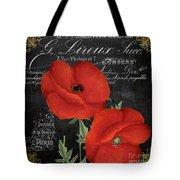 Fleur Du Jour Poppy Tote Bag