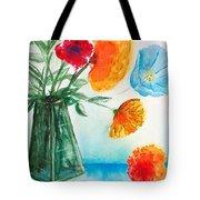 Fleur Primitiv Tote Bag