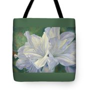 Fleurs Blanches Tote Bag