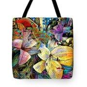 Fleurs De Lys 02 Tote Bag