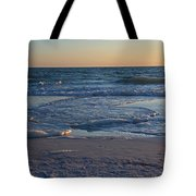 Flickering Lght Tote Bag