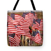 Flight 93 Flags Tote Bag