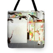 Flight From Reality Tote Bag