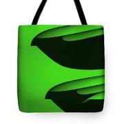 Flight - Green Version Tote Bag