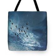 Flight Of Dreams Tote Bag