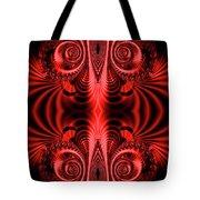 Flight Of Fancy Red Tote Bag