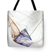 Flight Of Future Days Tote Bag