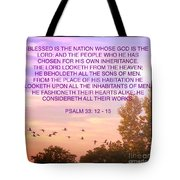 Flight Of Happiness Tote Bag