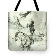 Flight Of The Eagle Tote Bag