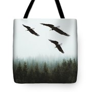 Flight Of The Eagles Tote Bag