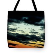 Flight Of The Geese Tote Bag