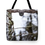 Flight Of The Great Gray Tote Bag