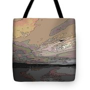 Flight Of The Gull Tote Bag