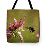 Flight Of The Mason Bee Tote Bag