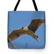 Flight Of The Night Heron Tote Bag