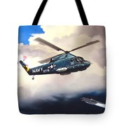 Flight Of The Seasprite Tote Bag