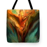 Flight Of The Spirit Tote Bag