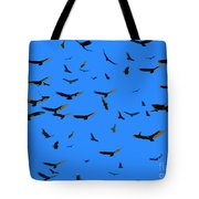 Flight Of The Vultures Tote Bag
