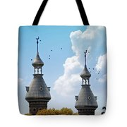 Flight Over The Crescents Tote Bag