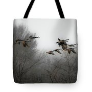 Flight To The Fields Tote Bag