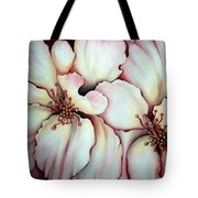 Flighty Floral Tote Bag