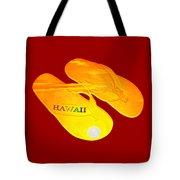 Flip Flops Kona Sunset Tote Bag