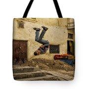 Flipped Tote Bag