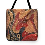 Flirting With Cello Tote Bag